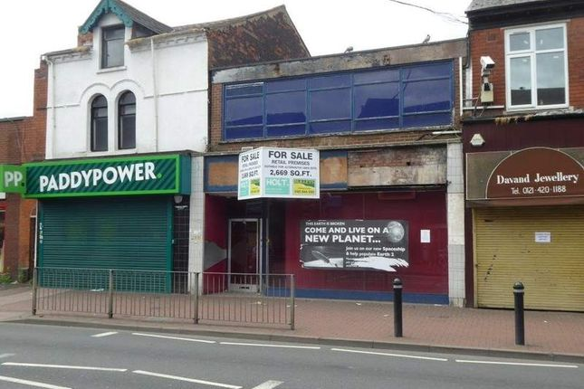 Thumbnail Retail premises for sale in 544 Bearwood Road, Smethwick, West Midlands