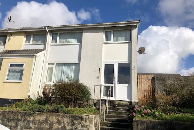 Thumbnail End terrace house to rent in Flamank Park, Bodmin
