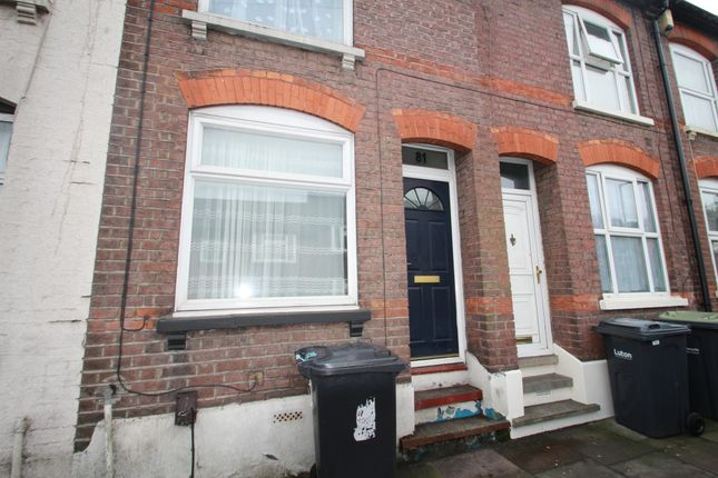 Thumbnail Terraced house to rent in Russell Street, Luton