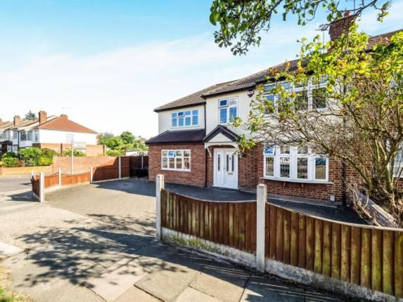 Thumbnail End terrace house for sale in The Ridgeway, Gidea Park, Romford