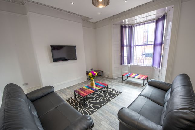 Thumbnail Shared accommodation to rent in Cresswell Terrace, Sunderland