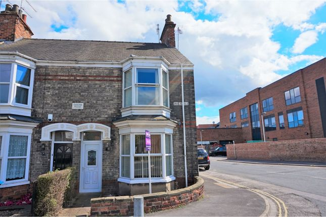 Thumbnail End terrace house for sale in Grovehill Road, Beverley