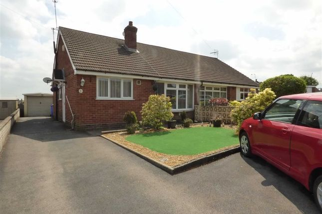 Thumbnail Semi-detached bungalow for sale in Heathcote Rise, Weston Coyney, Stoke-On-Trent