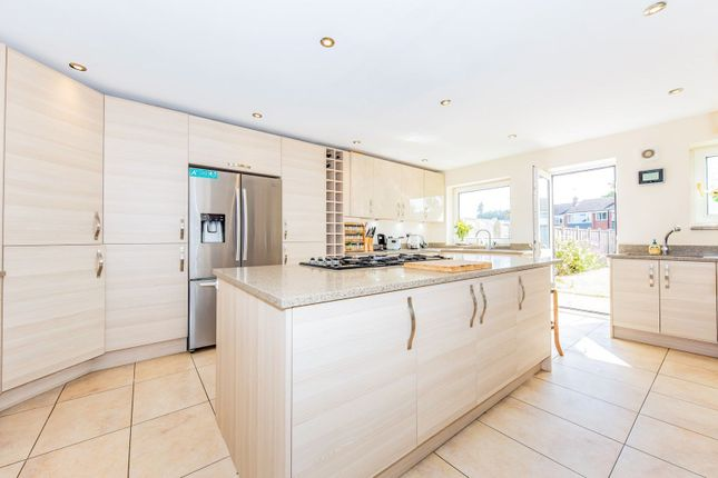 Thumbnail Semi-detached house for sale in Robins Grove Crescent, Yateley