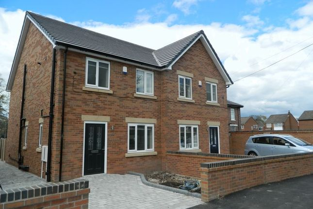Thumbnail Semi-detached house to rent in Flixton Road, Flixton, Manchester