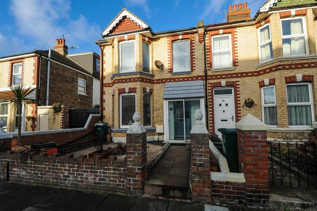 Thumbnail End terrace house for sale in St Aubyns Road, Portslade, West Sussex