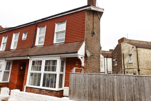 Thumbnail End terrace house for sale in Firle Road, Eastbourne