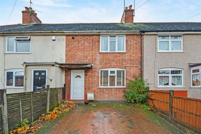 Thumbnail Terraced house for sale in Seagrave Road, Stoke, Coventry