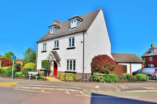 Thumbnail Detached house for sale in Greetham Way, Syston, Leicestershire
