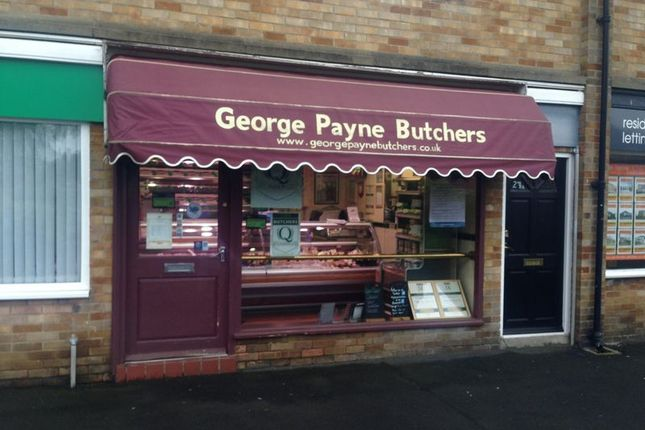 Retail premises for sale in George Payne Butchers, 27 Prince Road, Brunton Park