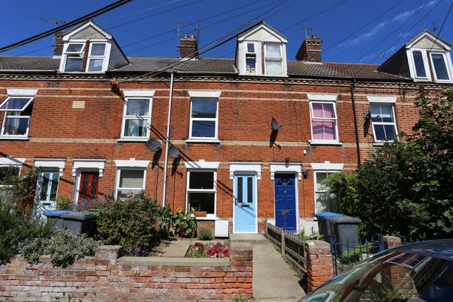 3 bed terraced house to rent in Gainsborough Road, Felixstowe IP11