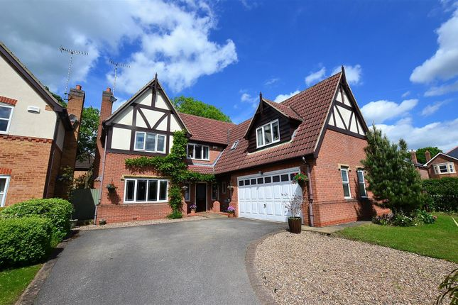 Thumbnail Detached house for sale in Spinneybrook Way, Mickleover, Derby