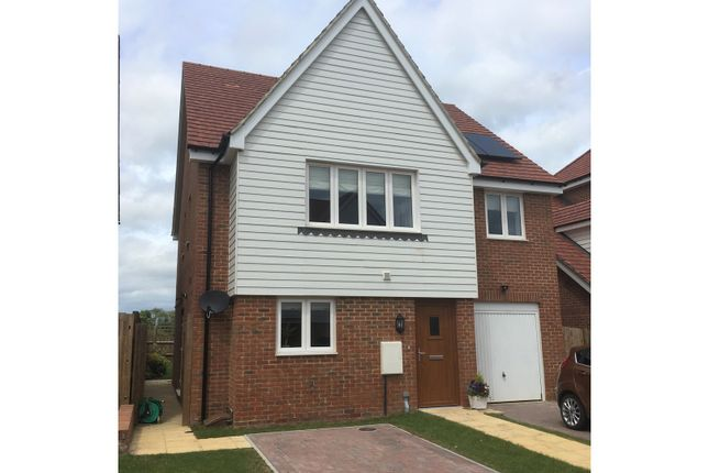 Thumbnail Detached house to rent in Maids Close, Biddenden