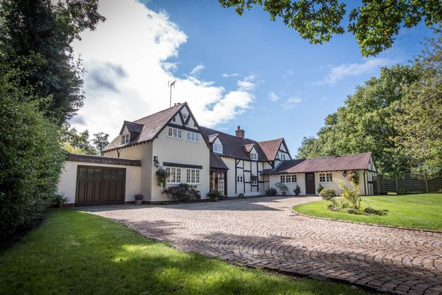 Thumbnail Detached house for sale in Rising Lane, Lapworth, Solihull