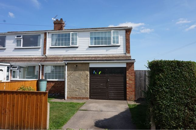 Thumbnail Semi-detached house for sale in North Holme, Tetney, Grimsby