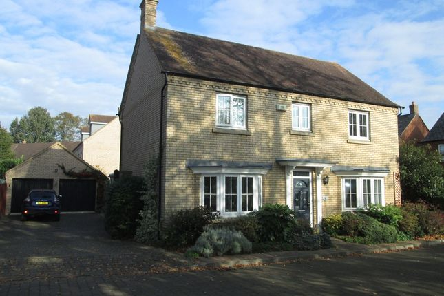 Thumbnail Detached house for sale in Mayston Close, Potton