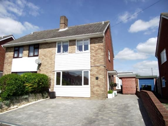 Thumbnail Semi-detached house for sale in Winnham Drive, Fareham