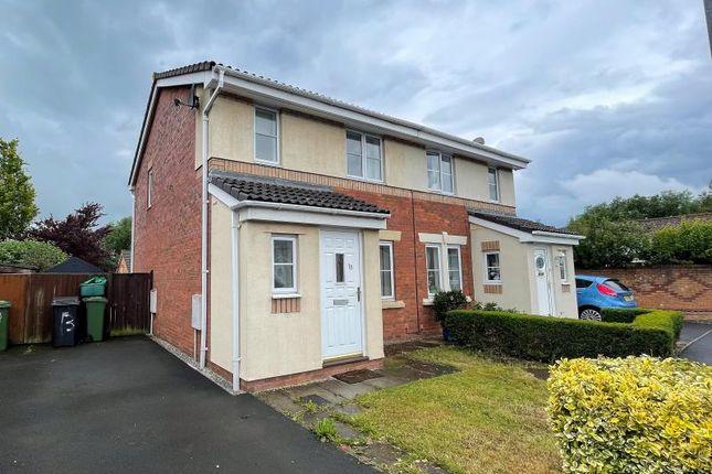 Thumbnail Semi-detached house to rent in Huntsman Lane, Carleton Grange, Carlisle