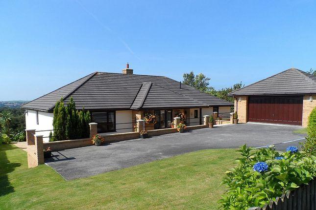 Thumbnail Detached bungalow for sale in 15, Bowood Park, Lanteglos, Cornwall