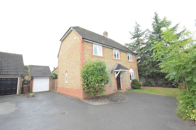 Thumbnail Detached house to rent in Saturn Croft, Winkfield Row, Bracknell