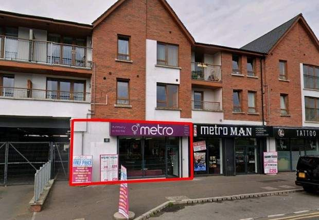 Thumbnail Retail premises for sale in Unit 4, 145–153 Kingsway, Dunmurry, Belfast, County Antrim