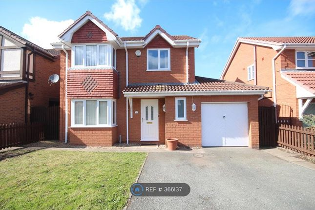 Thumbnail Detached house to rent in Ffordd Parc Castell, Bodelwyddan, Rhyl