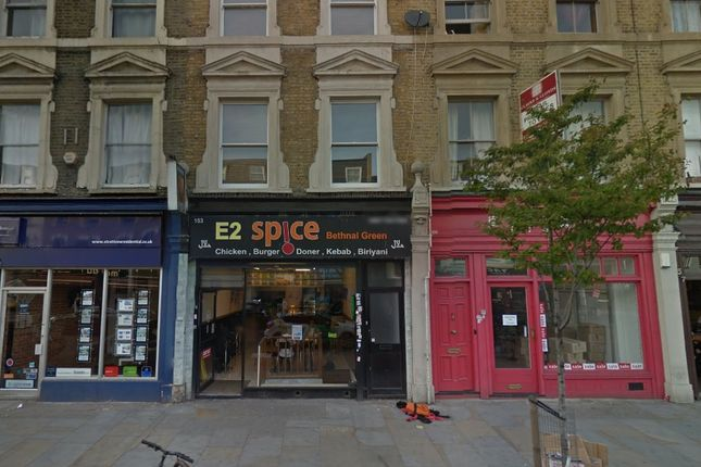 Thumbnail Restaurant/cafe to let in Bethnal Green Road, London