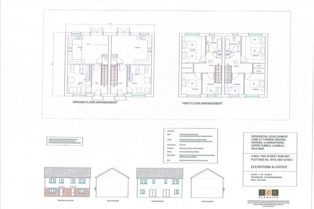Thumbnail Semi-detached house for sale in Llannon Road, Upper Tumble, Llanelli