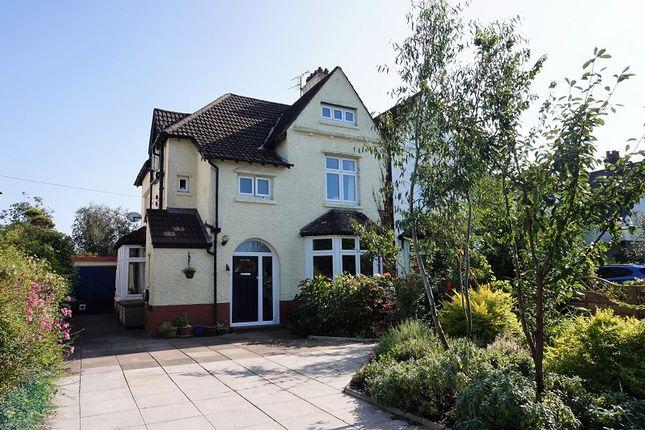 Thumbnail Semi-detached house for sale in Merthyr Mawr Road, Bridgend, Bridgend County.