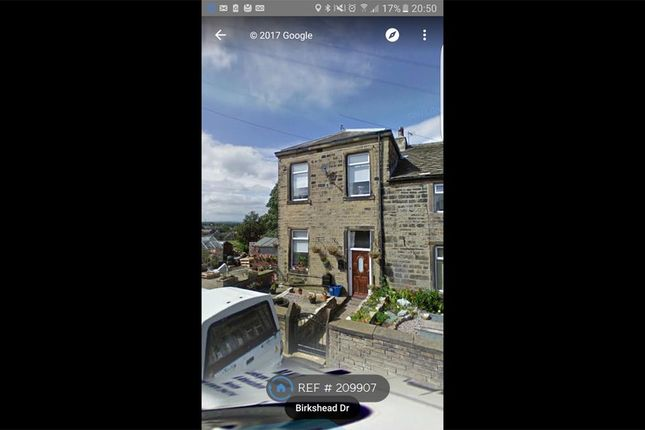 Thumbnail Terraced house to rent in Birkshead, Bradford