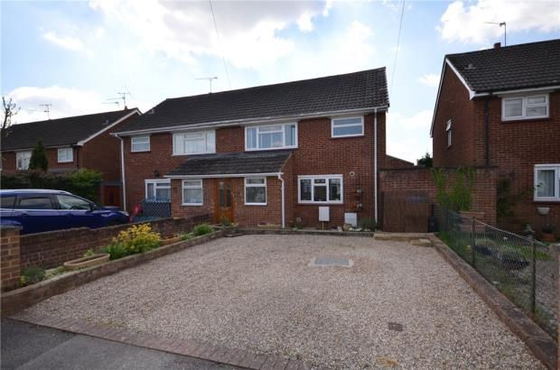 Thumbnail Semi-detached house for sale in St. Davids Close, Maidenhead, Berkshire