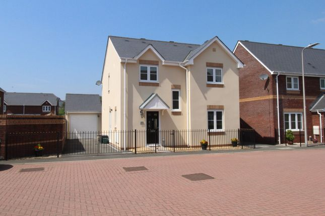 Thumbnail Detached house for sale in Ffordd Cambria, Pontarddulais, Swansea
