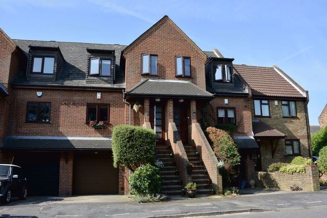 Thumbnail Terraced house for sale in Rectory Grove, Hampton