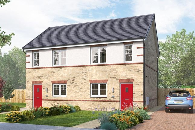 """Thumbnail Terraced house for sale in """"The Bambridge Mid"""" at Stockton-On-Tees"""