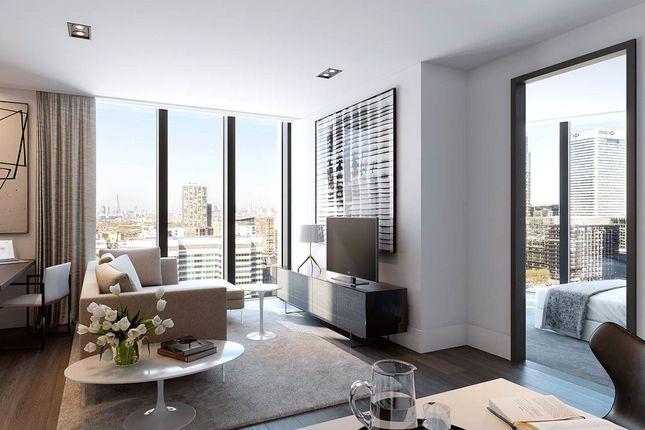 Living Area of The Madison, 199 To 207 Marsh Wall, Canary Wharf, London E14