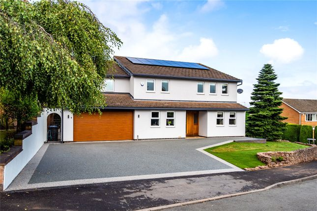 Thumbnail Detached house for sale in Salisbury Road, Burbage, Hinckley, Leicestershire