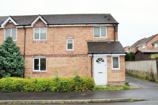 Thumbnail 3 bed semi-detached house to rent in Elm Crescent, Penllergaer, Swansea
