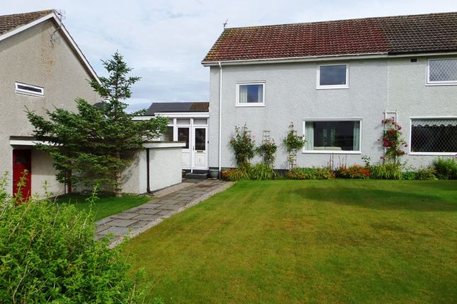 Thumbnail Semi-detached house for sale in Langwell Court, Thurso
