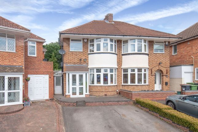 Thumbnail Semi-detached house for sale in Hanson Grove, Solihull