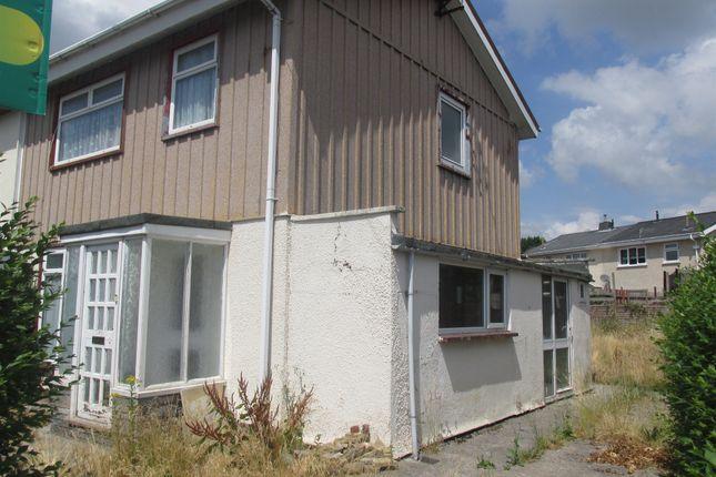 Thumbnail Semi-detached house for sale in Maescynon, Hirwaun, Aberdare