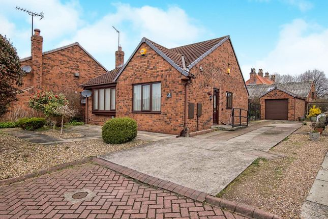 Thumbnail Detached bungalow for sale in Kirk Close, Sutton-On-Hull, Hull