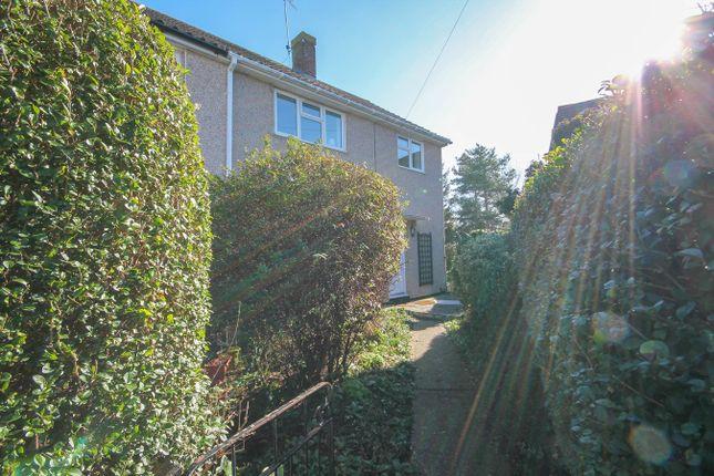 Thumbnail End terrace house for sale in Elgar Close, Laindon, Basildon