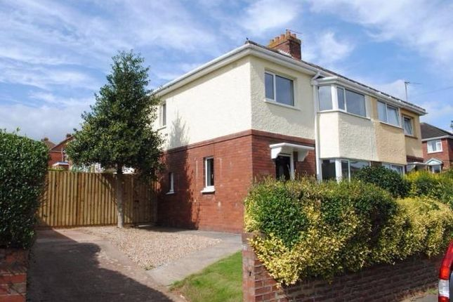 Thumbnail Semi-detached house to rent in Bettysmead, Exeter