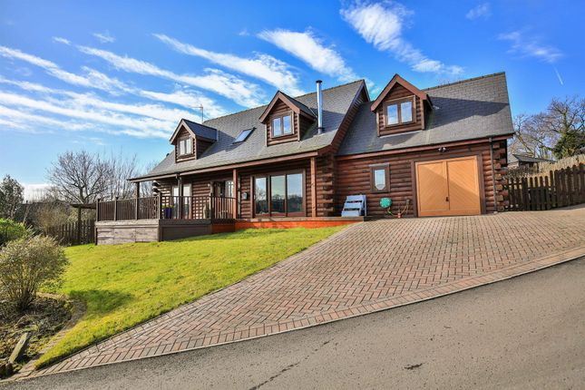 Thumbnail Detached house for sale in Oakmead Road, Llanharan, Pontyclun