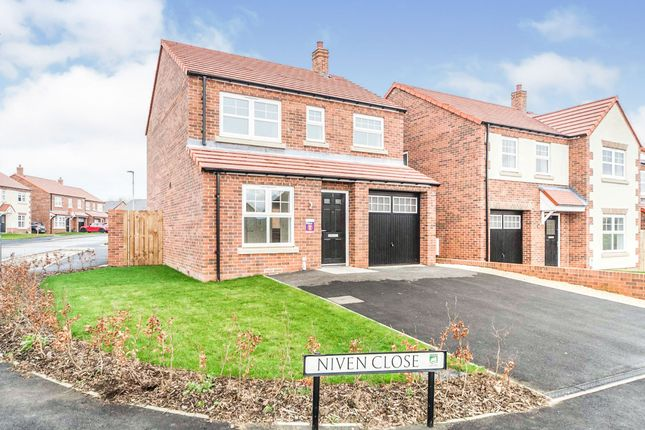 Thumbnail Detached house for sale in Niven Close, Hartlepool