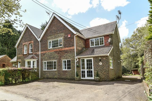 Thumbnail Semi-detached house for sale in Steep Marsh, Petersfield