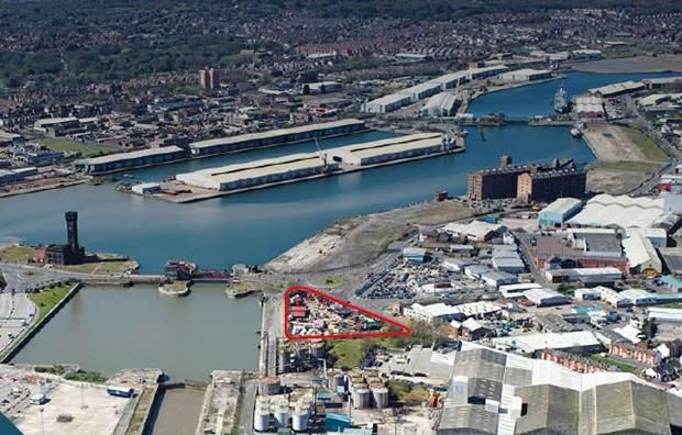 Thumbnail Land to let in Scotts Quay, Birkenhead Road, Wallasey, Wirral