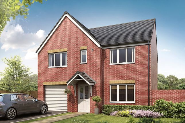 """Thumbnail Detached house for sale in """"The Belmont"""" at Cross Lane, Sacriston, Durham"""