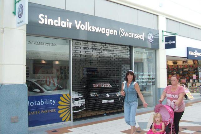 Thumbnail Retail premises to let in Unit 17 St. Elli Shopping Centre, Llanelli