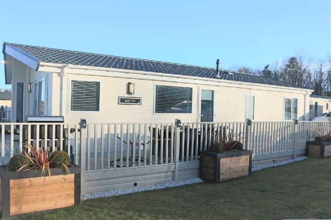 Lodge for sale in Thurston Manor Leisure Park, Dunbar